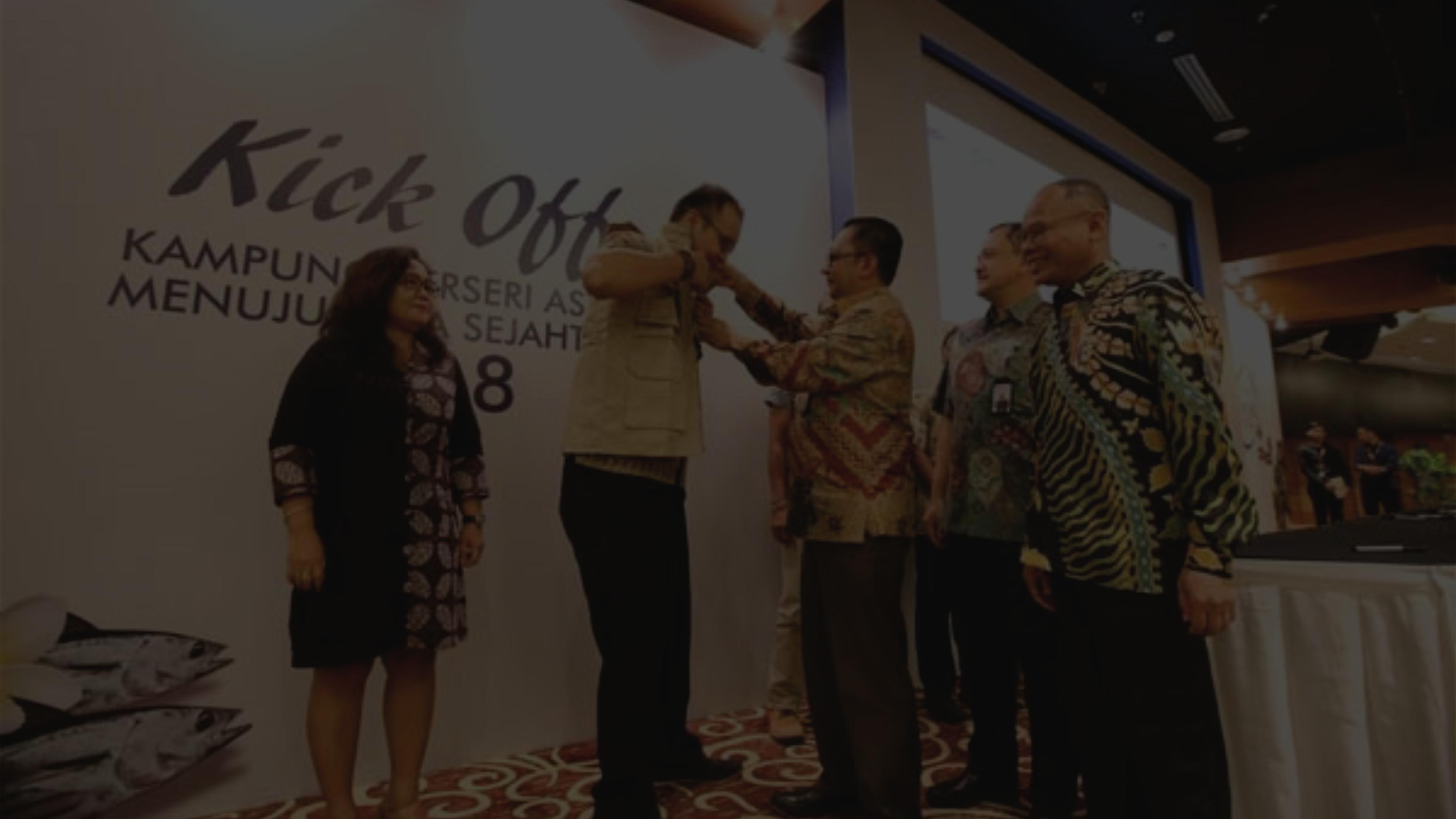 Semut Nusantara bekerjasama dengan Kampung Berseri Astra